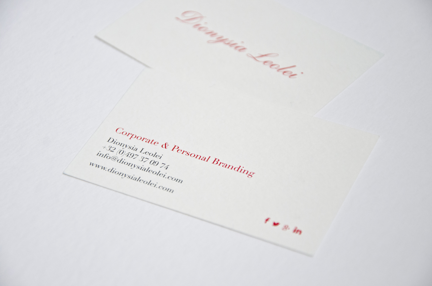 Dionysia Leolei Business card