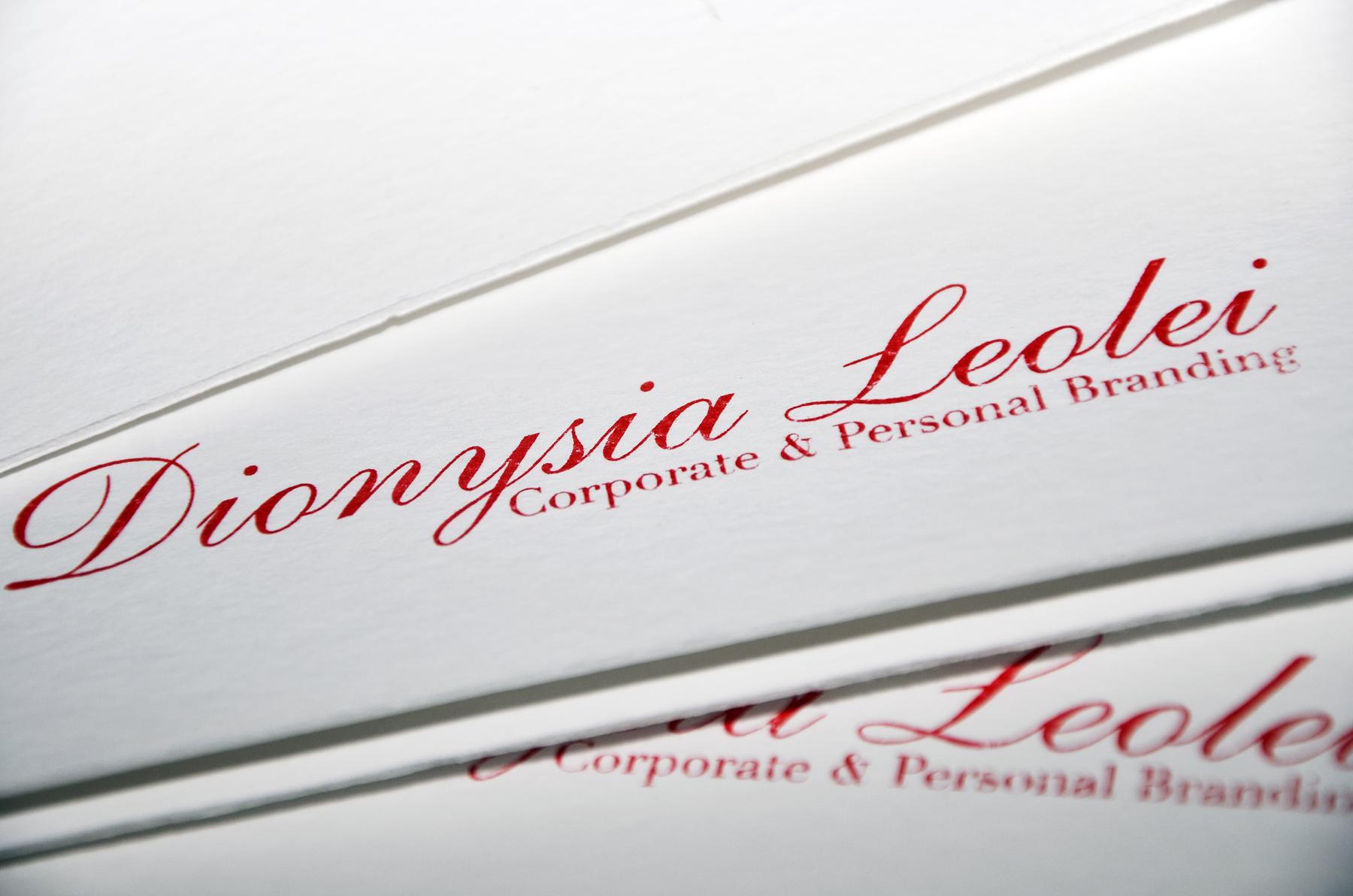 Dionysia Leolei Folders Design