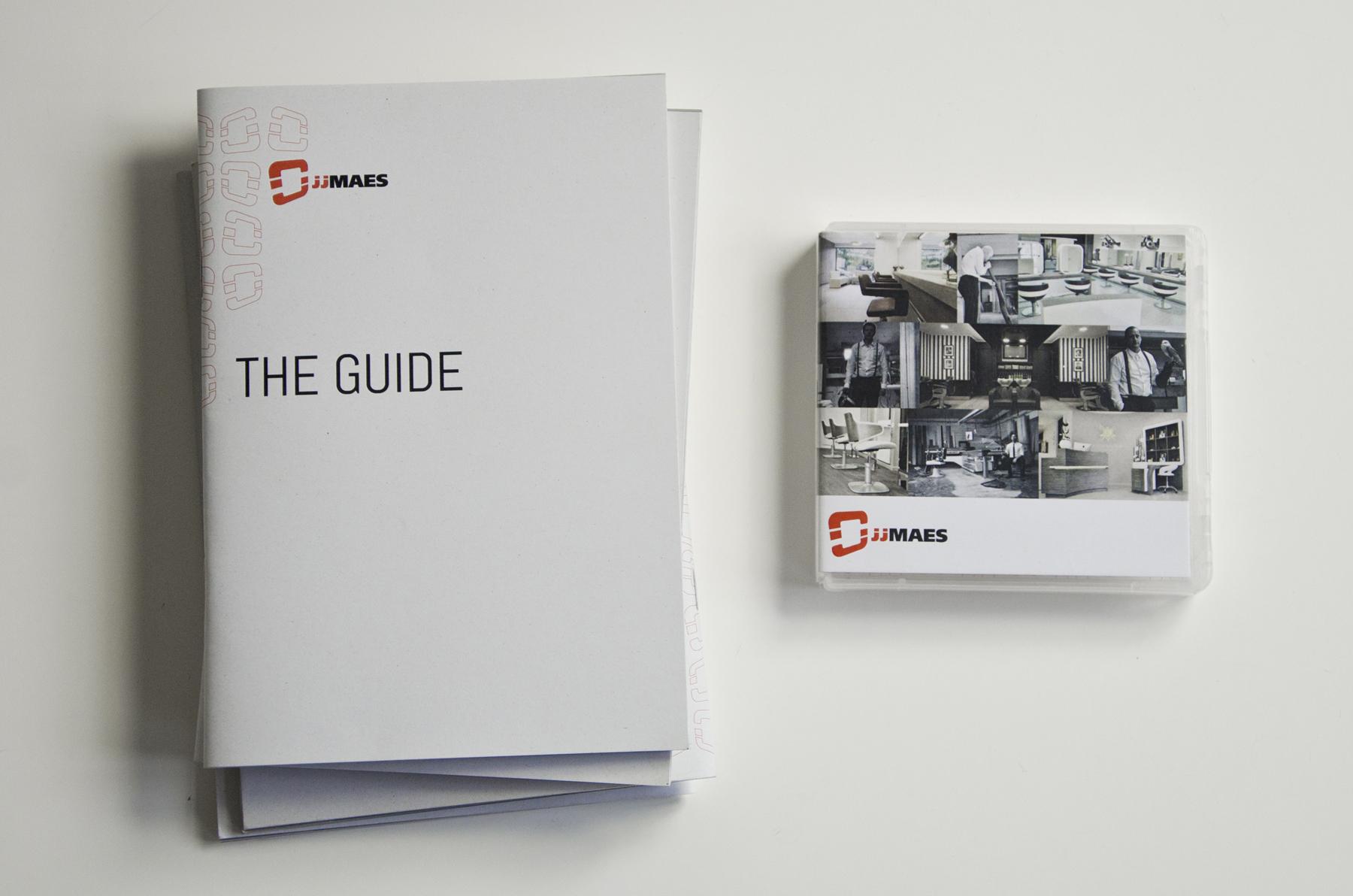 JJ Maes Booklet & USB box